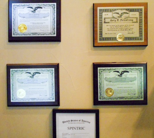patents wall photo